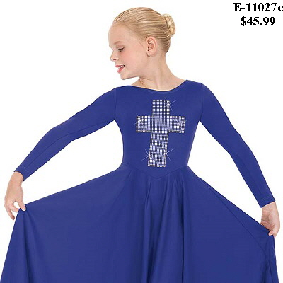 E-11027c Child Cross of Light Dress