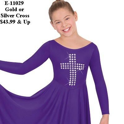 E-11029c Child Cross of Truth dress