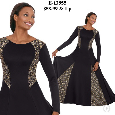 E-13855 Divine Royalty Dress