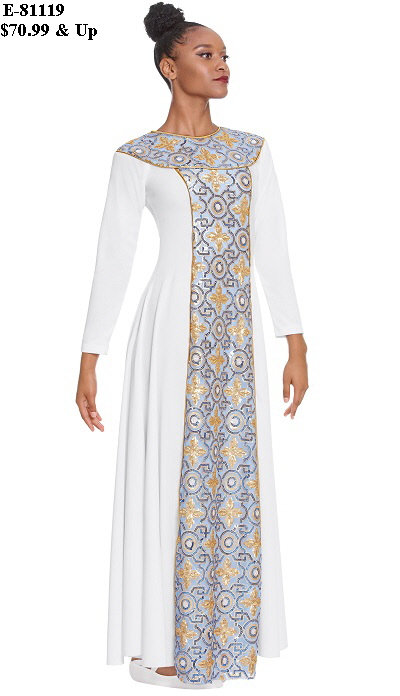 E-81119 Tabernacle Praise Dress