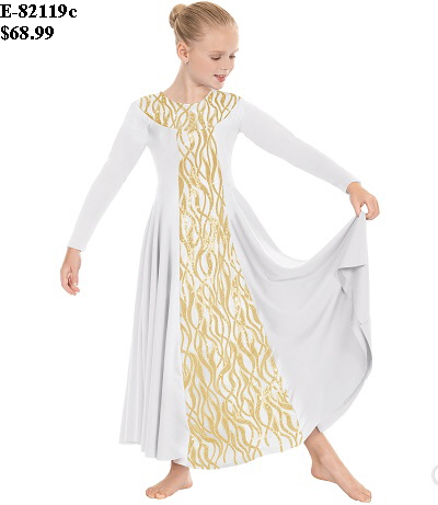 E-82119c Child Passion of Faith Dress 2
