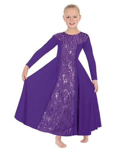 E-82119c Child Passion of Faith Dress