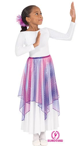 E-13768c - Child Single Hankerchief Skirt and Top
