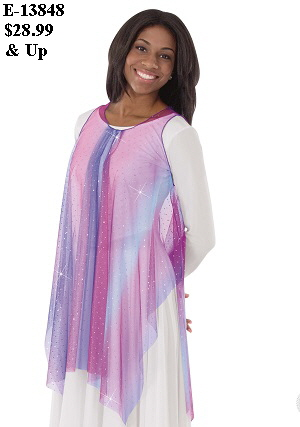E-13848 - Soft Skies Tunic
