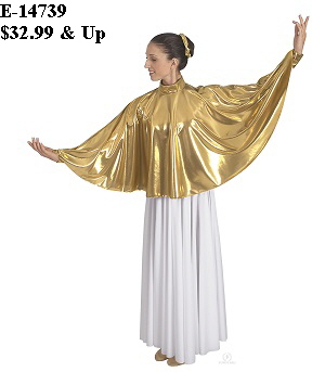 E-14739 - Guiding Light Angel Cape