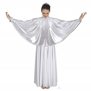 E-14739c - Child Guiding Light Angel Cape