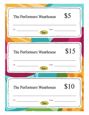 TPW - Gift Certificates